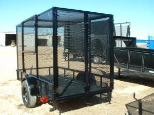 cardboard recycling trailer