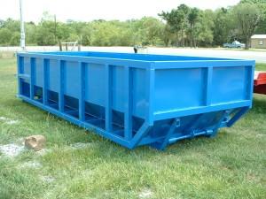 custom dumpster rolloff