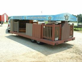 deck display trailer