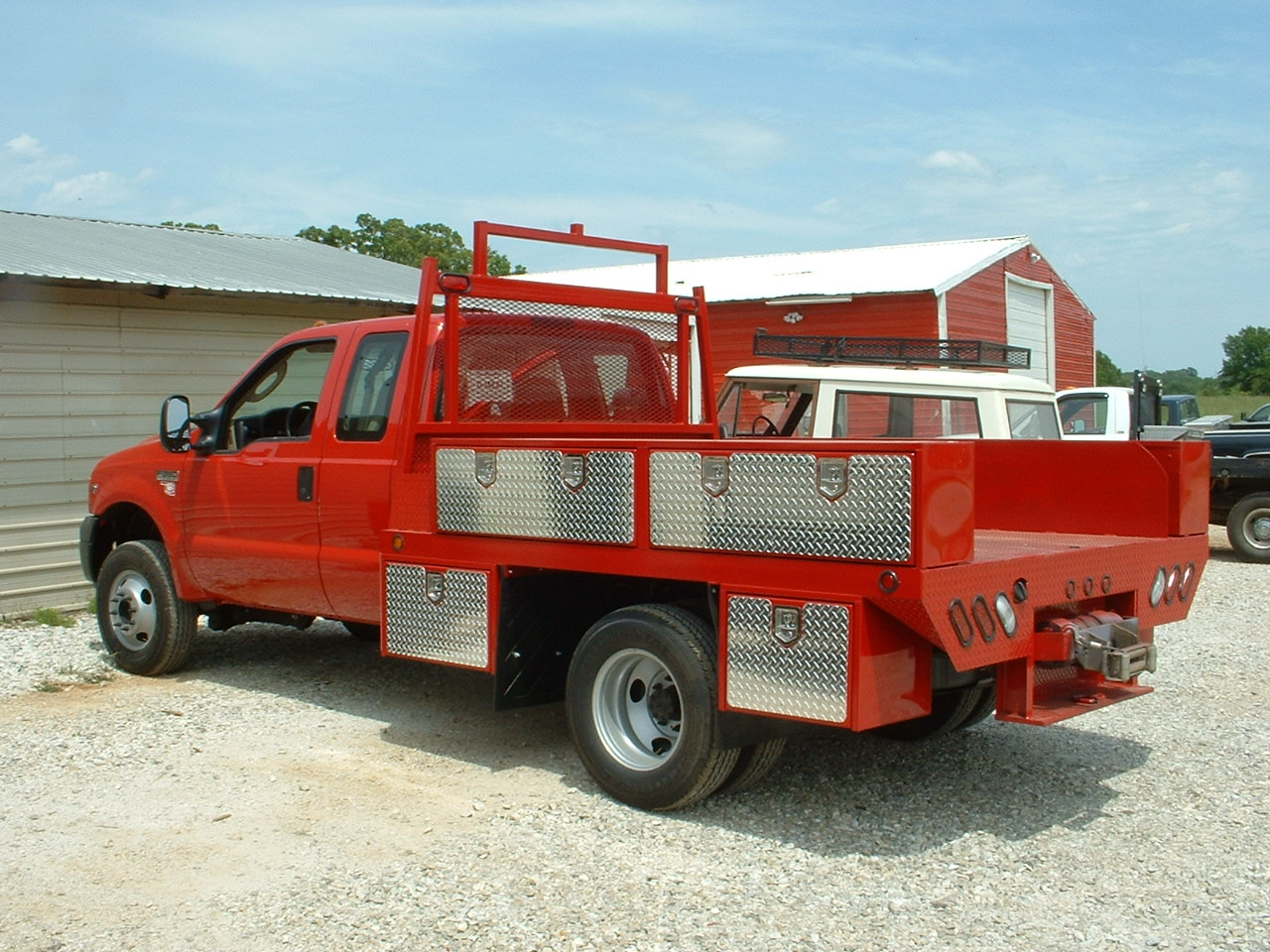 Brush Fire Trucks likewise Gooseneck Round Bale Trailers as well Used Welding Truck Beds as well Fuel Tank Tool Box For Flatbed Trucks additionally Vintage Coe Car Hauler Trucks For Sale. on custom hauler truck beds
