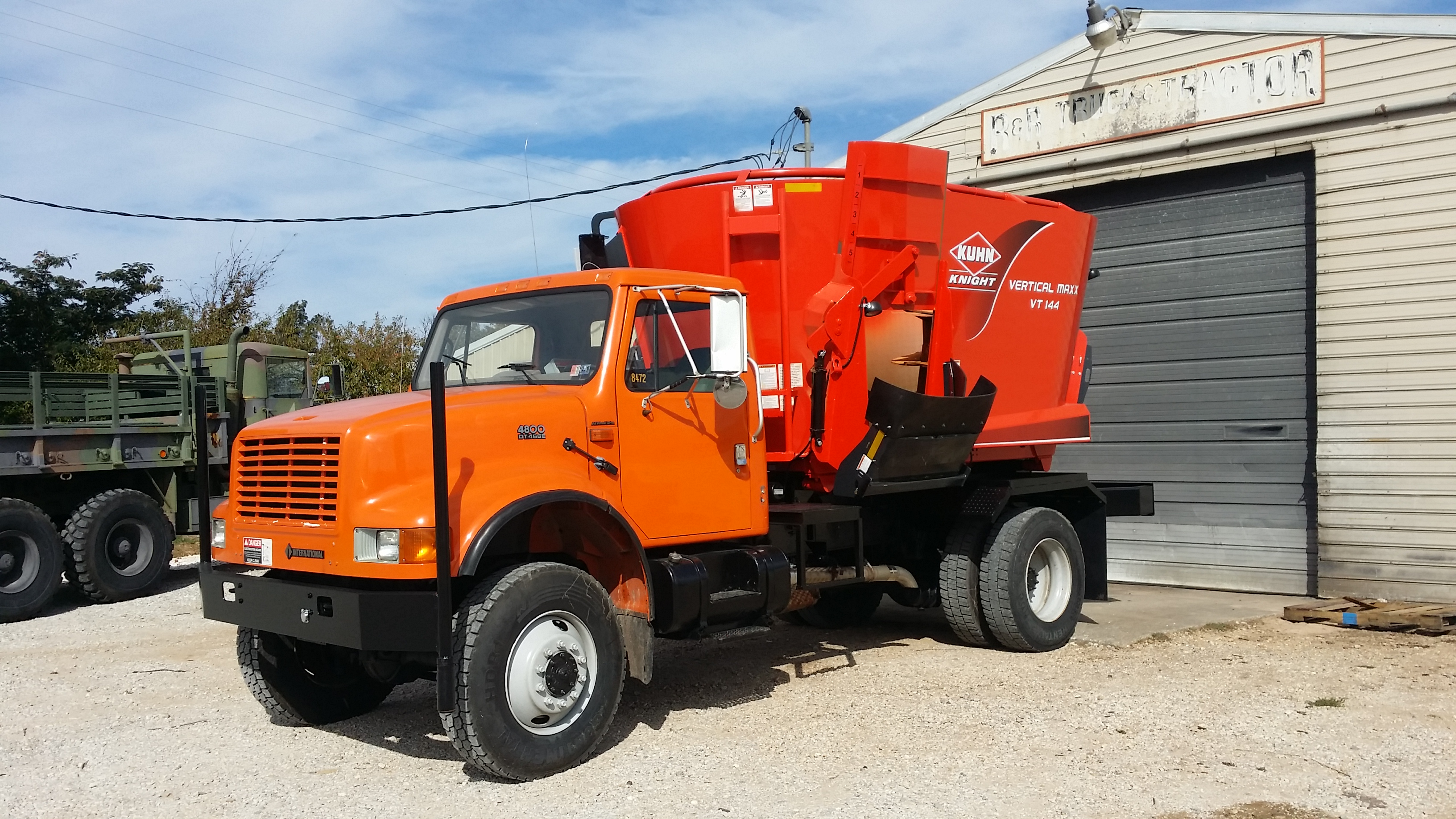 Truck Beds For Sale >> truck mounted feed mixers